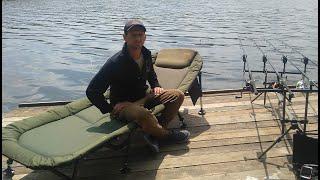 Раскладушка для рыбалки Elektrostatyk L15