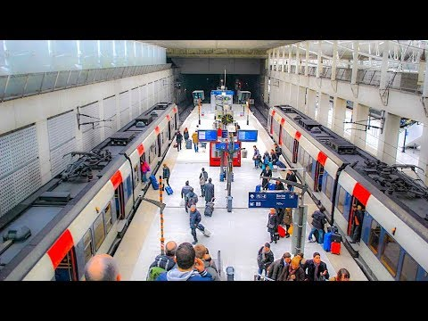 Riding The RER From CDG To Gare Du Nord, Paris (Airport Commuter Train)