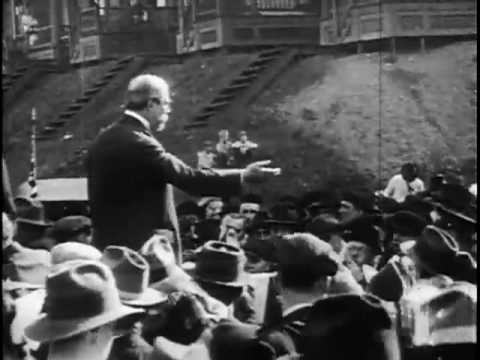 Charles E. Hughes Speaking During Campaign, Duquesne, Pa., 1916