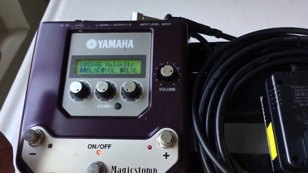 yamaha magicstomp guitar effects processor review for acoustic electric guitar youtube. Black Bedroom Furniture Sets. Home Design Ideas
