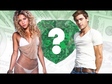 WHO'S RICHER? - Shakira or Zac Efron? -...