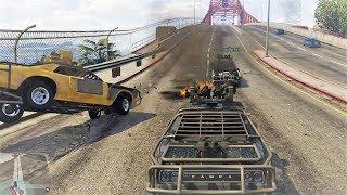 GTA V - TRAFICANTES DE ARMAS! - SUPER PERSECUCION! #7 thumbnail