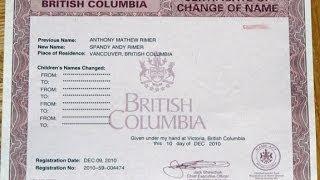 Канада 153: Есть желание сменить имя