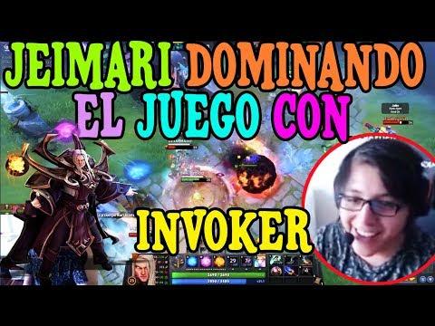 JEIMARI DOMINANDO EL JUEGO CON INVOKER I DOTA 2 thumbnail