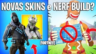FORTNITE-NEW SKINS, DANCES and NERFADA CONSTRUCTION!