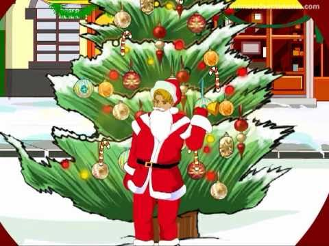 """Animated Dancing """"Santa Claus is Coming to Town"""" Christmas Greeting Card - YouTube"""