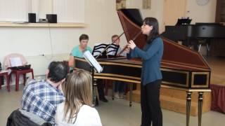 J.S. Bach - Organ Trio Sonata in d-minor BWV 527 on recorder