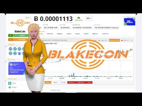 BlakeCoin $BLC Climbed 204% Over The Past 24 Hours
