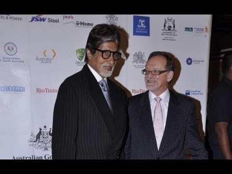 Amitabh Bachchan At Premiere Of 'Fearless Nadia'