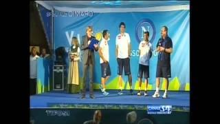 Presentazione Napoli 2013/14 (PARTE 1) - Tifosi Speciale Dimaro 20/07/13
