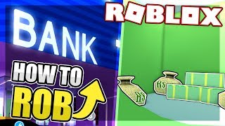 HOW TO ROB THE BANK IN MAD CITY | Roblox