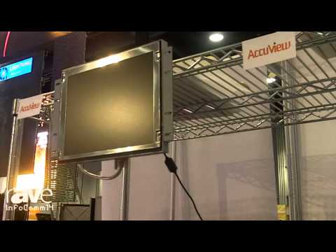 InfoComm 2014: AccuView Shows Off the Open-Frame Platform and Mounts