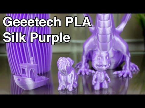 Geeetech Silk Purple PLA - 3D Printer 1,75mm PLA Filament