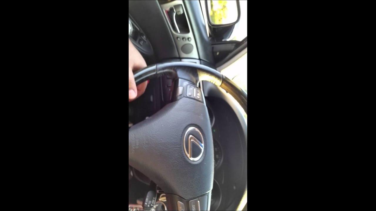 Lexus ES330 rattling noise