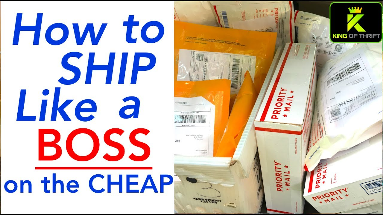 HOW TO SHIP ON EBAY FOR BEGINNERS. Shipping on eBay on a ...