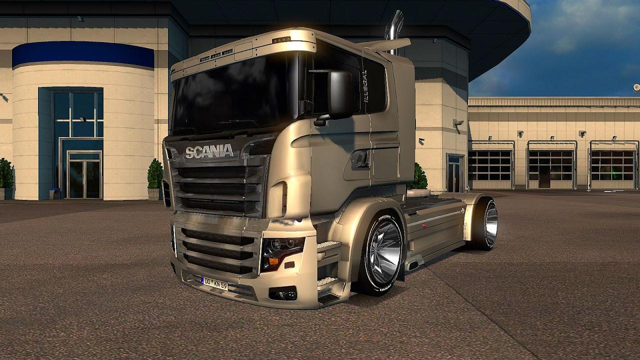 V8 illegal reworked truck v5 0 simulator games mods download - Scania Illegal V8 Reworked V5 0 Ets2 Euro Truck Simulator 2