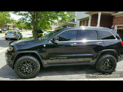 2017 Jeep Grand Cherokee Limited Wk2 With Larger Hybrid Tires Youtube