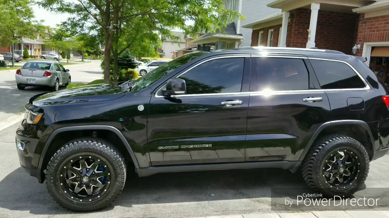 Jeep Grand Cherokee Tires >> 2017 Jeep Grand Cherokee Limited Wk2 With Larger Hybrid Tires