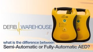 What is the difference between a Semi-Automatic or Fully-Automatic AED?