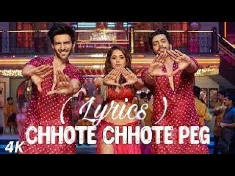 Chote Chote Peg (lyrics)    Yo Yo Honey Singh    