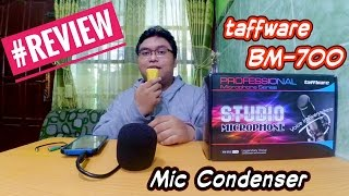الأداة - مراجعة Taffware BM-700 (Bisa Buat الغناء! Smule) | هيئة التصنيع العسكري المكثف