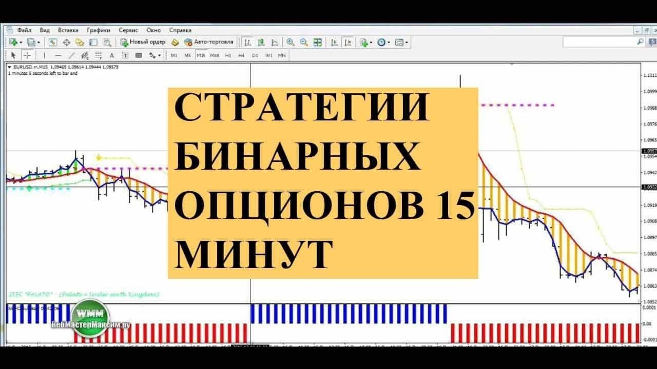 Стратегия торговли бинарные опционы 15 минут видео советник по forex goiler indicator