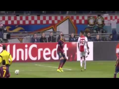 Thulani Serero Goal ~ Ajax vs Barcelona 1-0