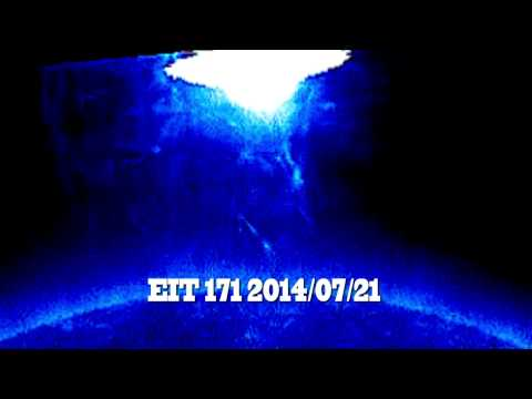 UFO Sightings Massive Mothership Draws Energy From The Sun! Nasa Cover Up? - thirdphaseofmoon  - -pWdX7t1co8 -