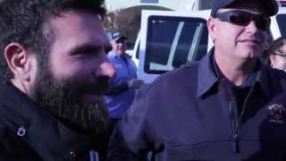 Dan Bilzerian donates a Uhaul Truck worth of toys to the Spark of Love Toy Drive