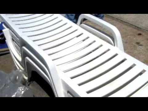 9 plastic beach chair lounge chairs on for Pvc pipe lounge chair