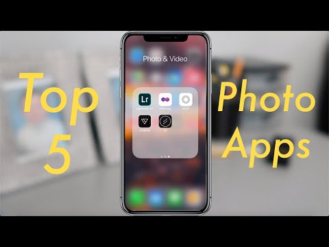 TOP 5 PHOTO EDITING APPS (2019) | USEFUL For Instagram