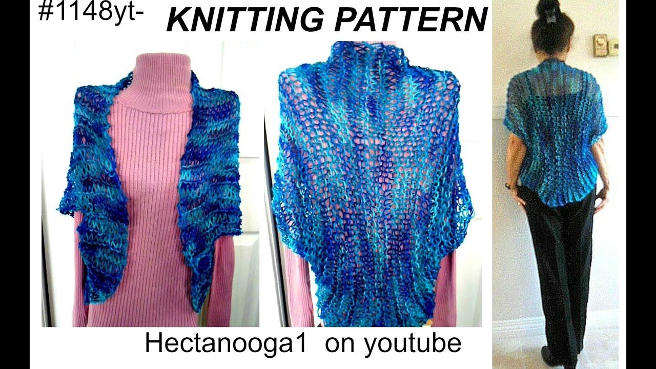 Knifty Knitter Shawl Pattern