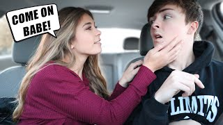 """LET'S DO IT IN THE BACKSEAT"" Prank on My Boyfriend!!"