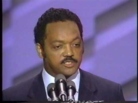 Jesse Jackson Speech to 1988 Convention Pt 6