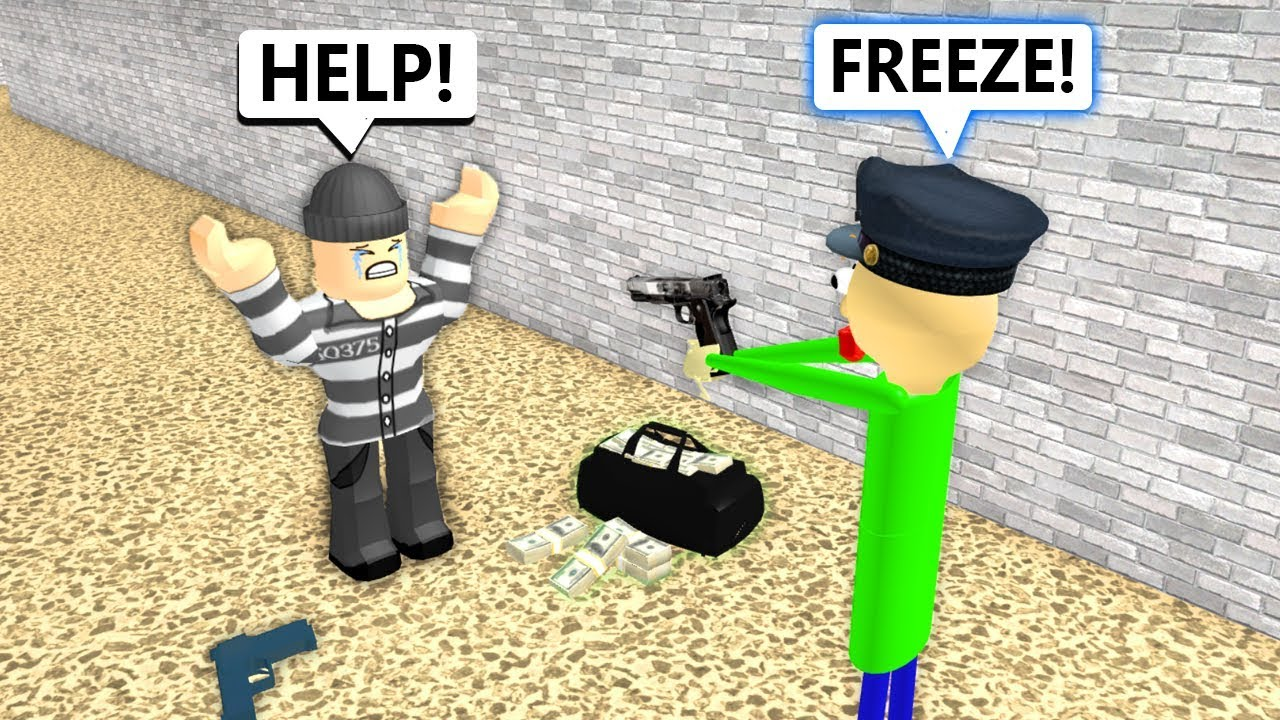 Baldi Becomes a Cop (Roblox Animation)