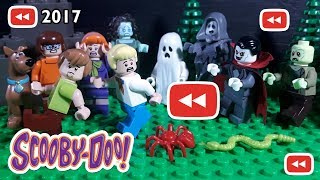 All LEGO Scooby Doo Stop Motion | Youtube Rewind 2017