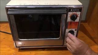 Sanyo Electric 1200 W Oven You