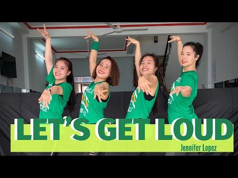 Let's Get Loud - Jennifer Lopez   Cha Cha Pop   Zumba Choreography