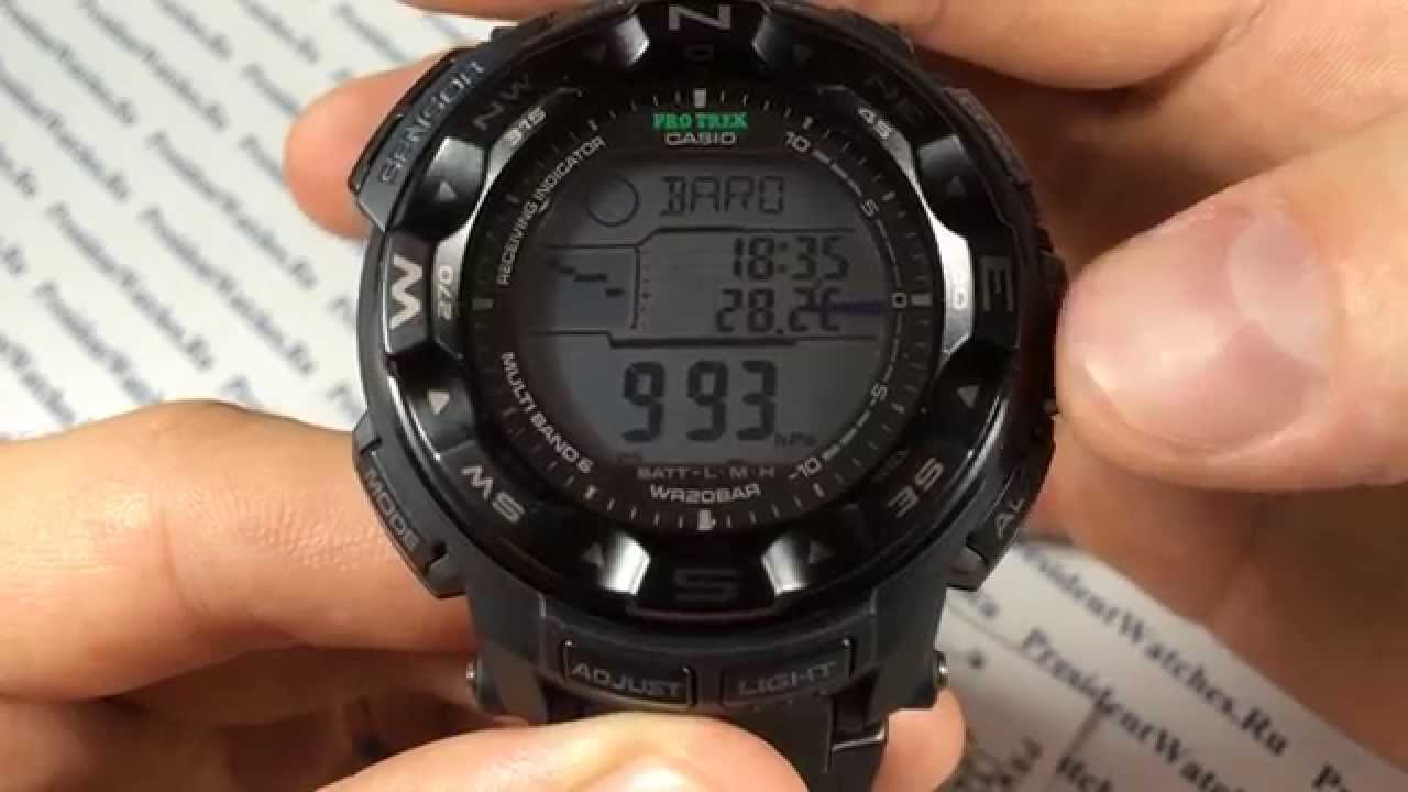 Часы Casio PRW-2500-1E Часы Слава 6191376/2025