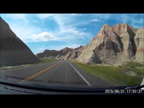 Scenic Drive-thru Badlands National Park