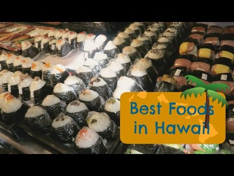 The BEST foods to eat in Hawaii!!