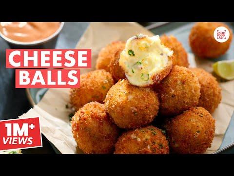 Cheese Balls Recipe | Crispy & Cheesy Cheese Balls | Home-made Bread Crumbs | Chef Sanjyot Keer
