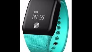 makibes a88 bluetooth 4 0 smart bracelet blood oxygen heart rate sleep monitor pedometer call remin