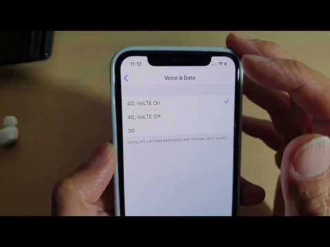IPhone 11 Pro: How To Switch To 4G / VoLTE / 3G (Voice & Data)