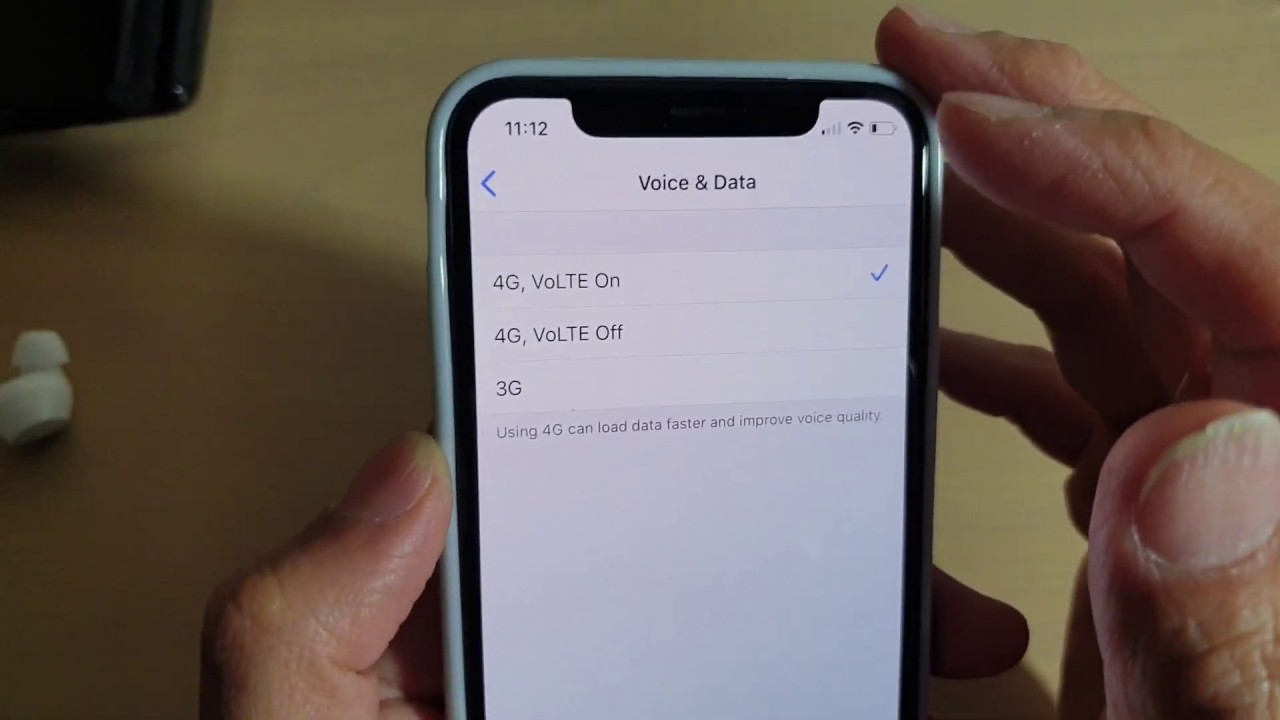 Enable NTC VoLTE service on iPhone