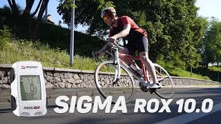 sigma Rox 10.0: обзор велокомпьютера