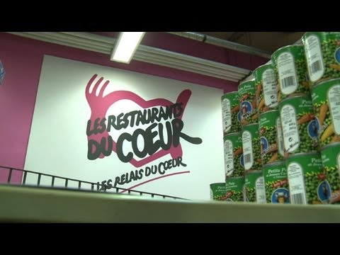 French food bank launches 28th food distribution campaign