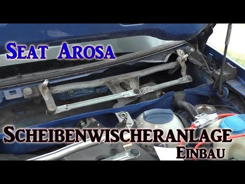 Seat Arosa Scheibenwischergestänge. VLOG#4 | HD+ | Deutsch