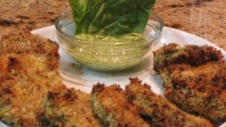 ~crispy Baked Not Fried Zucchini With Linda's Pantry~