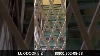 видео Решетчатые двери. Описание особенностей конструкции и области применения